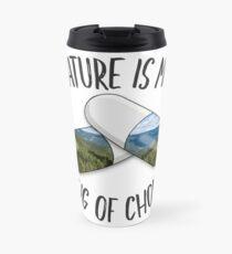 Nature is my Drug - Tahoe Travel Mug