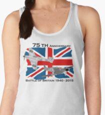 Battle of Britain 75th 1940 2015 Women's Tank Top
