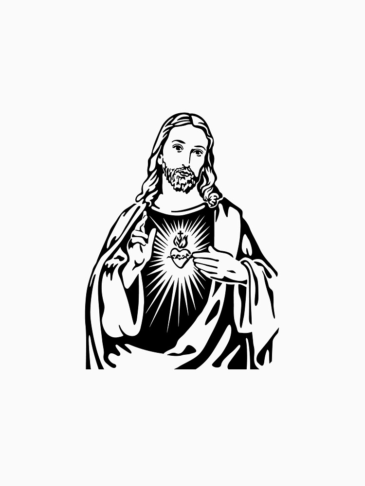 Sacred Heart Of Jesus by tradcatfem