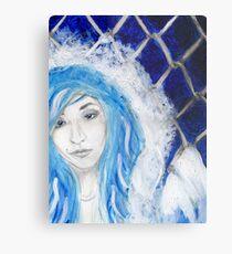 Blueviolet Metal Print