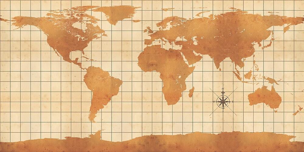 Old Earth Map by Luke Milkovic