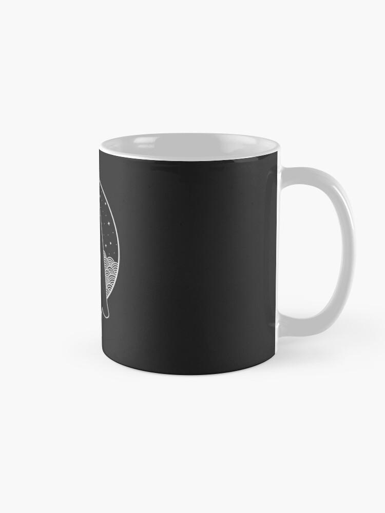 Alternate view of Death Bunny a Mug