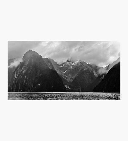 Mitre Peak Photographic Print