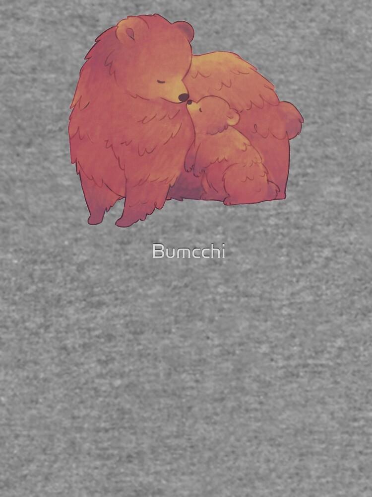 Mama Bear & Cub - [Light BG] by Bumcchi