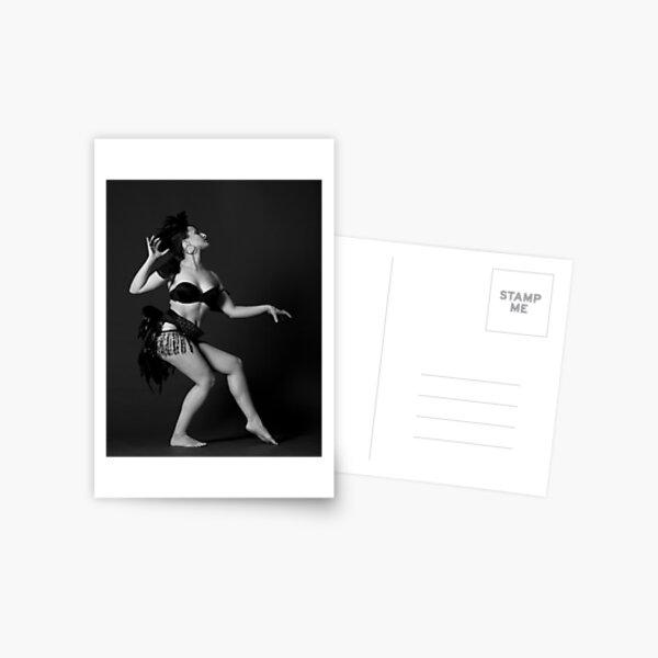 Burlesque Postcard