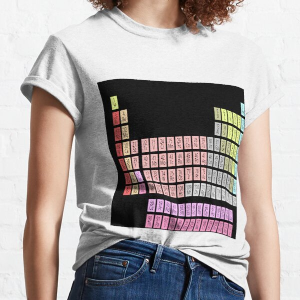 #Periodic #Table of #Elements #PeriodicTableofElements Classic T-Shirt