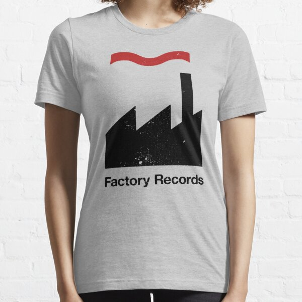 Factory Records (distressed design) Essential T-Shirt