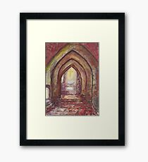 Holly Place Framed Print