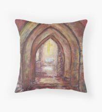 Holly Place Throw Pillow