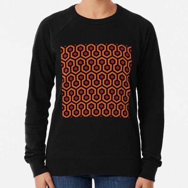 Übersehen Sie den Hotelteppich von The Shining: Orange / Rot / Schwarz Leichter Pullover