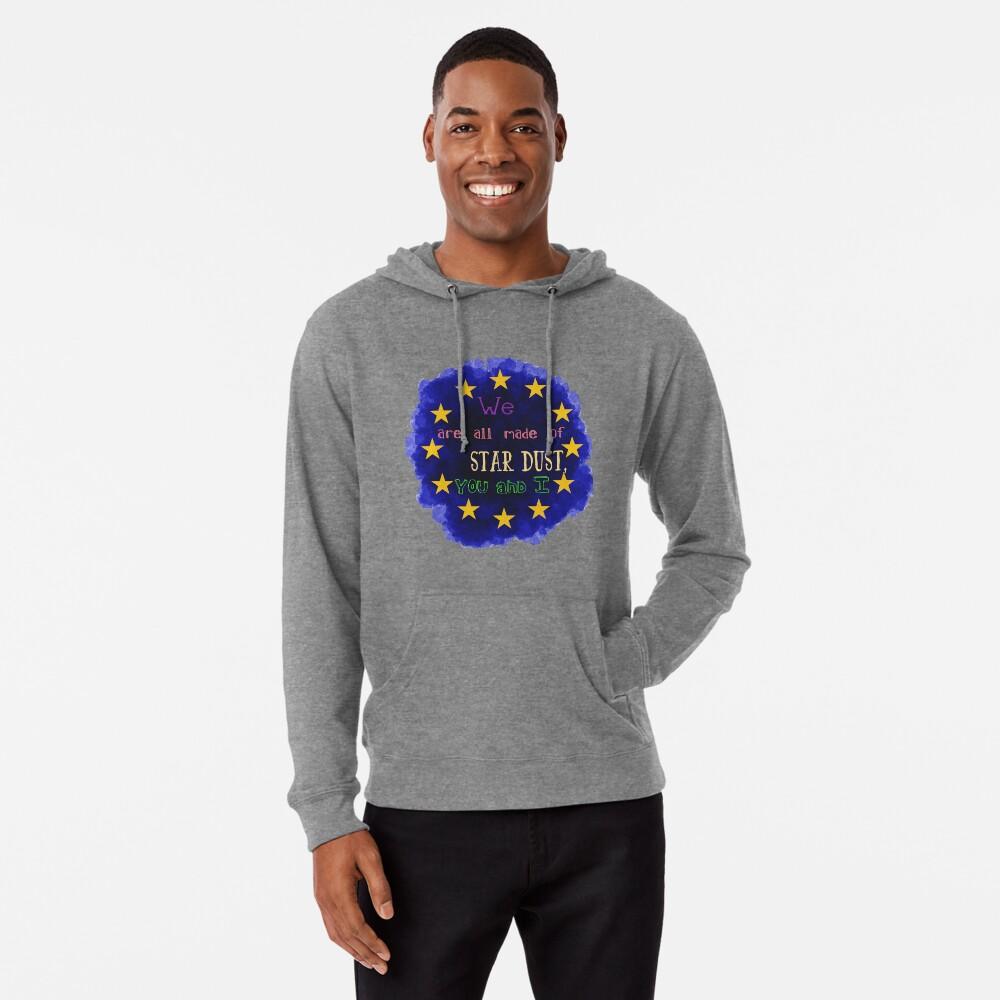 Europe - a star chart Lightweight Hoodie