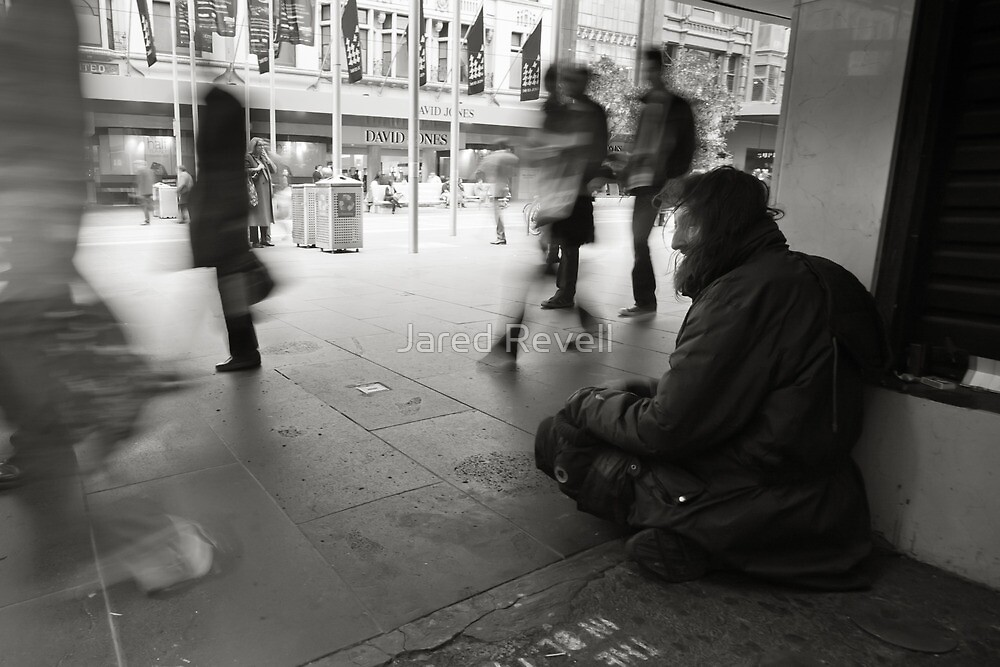 Portrait of the Homeless by Jared Revell