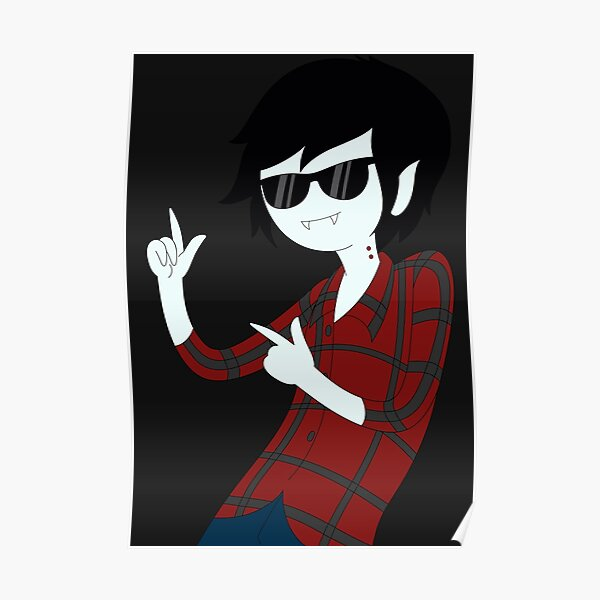 Adventure Time™ with Marshall Lee Poster