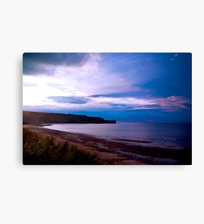 Sandsend Beach Canvas Print