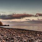 La spiaggia dell'asino al tramonto by Andrea Rapisarda