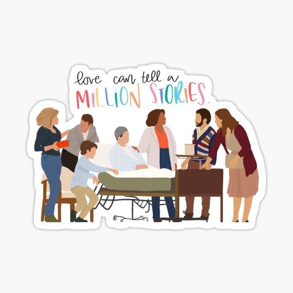love's unkind, spiteful in a million ways Sticker