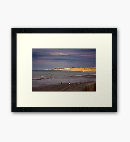 Sandsend to Whitby Framed Print