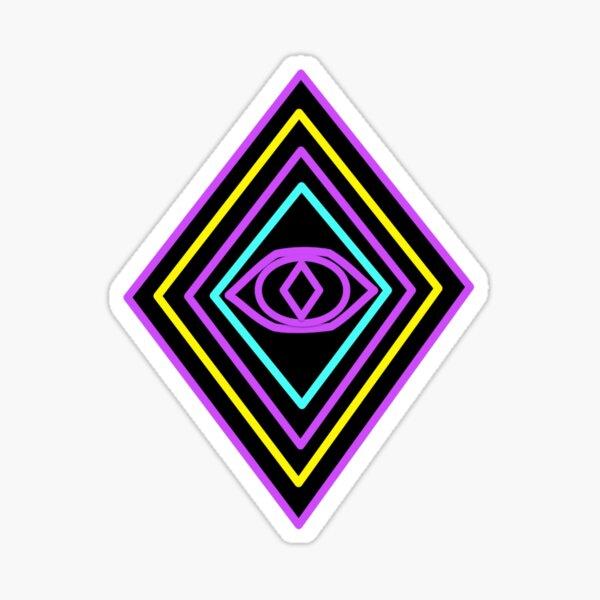 Retro Diamond Sticker