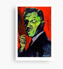 Vincent Price taking a smoke break Canvas Print