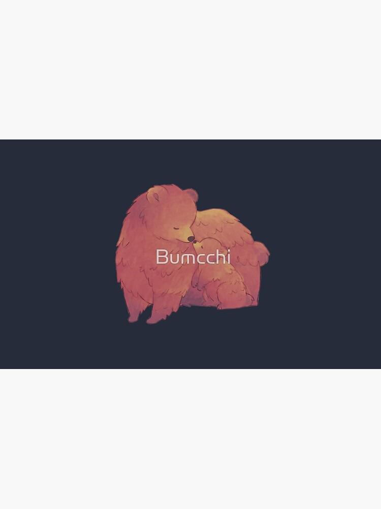 Mama Bear & Cub - [Dark BG] by Bumcchi