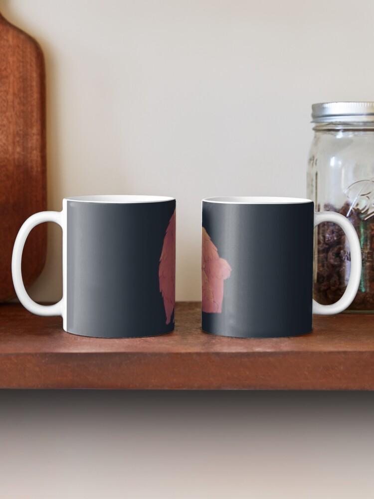Alternate view of Mama Bear & Cub - [Dark BG] Mug