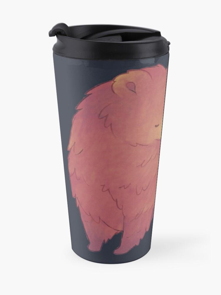 Alternate view of Mama Bear & Cub - [Dark BG] Travel Mug