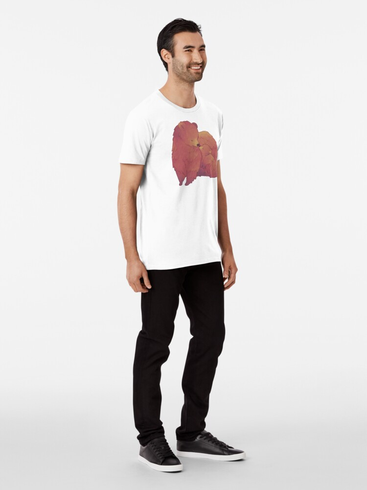 Alternate view of Mama Bear & Cub - [Dark BG] Premium T-Shirt