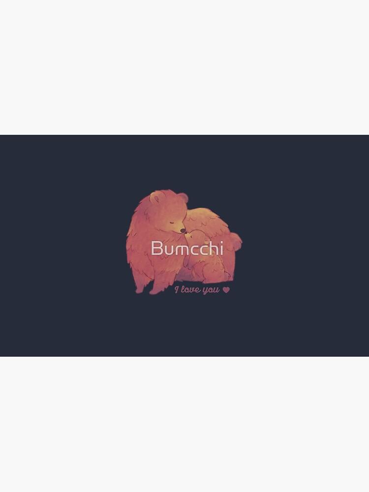 Happy Mothers Day 2 - Mama Bear & Cub [Dark BG] by Bumcchi