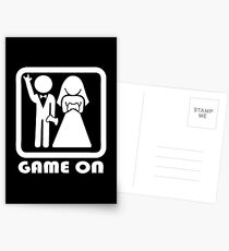 GAME ON 2 Postcards