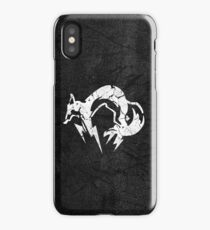 Foxhound V2 (White) iPhone Case