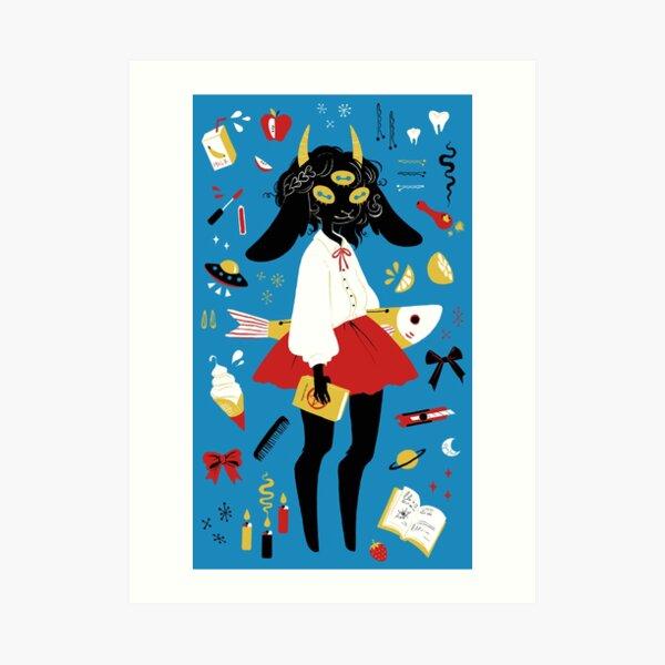monday campanella Art Print