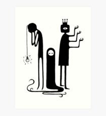 don't you want to be in a cult? Art Print
