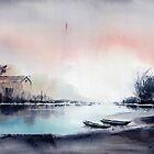 River View by Anil Nene