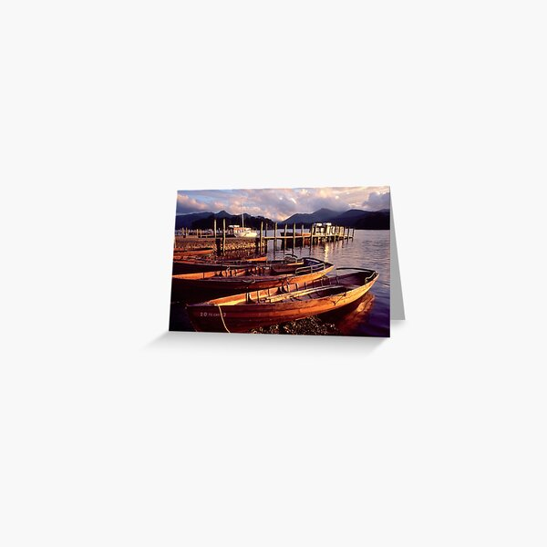 Keswick, Derwentwater - The Lake District Greeting Card