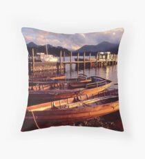Keswick, Derwentwater - The Lake District Throw Pillow