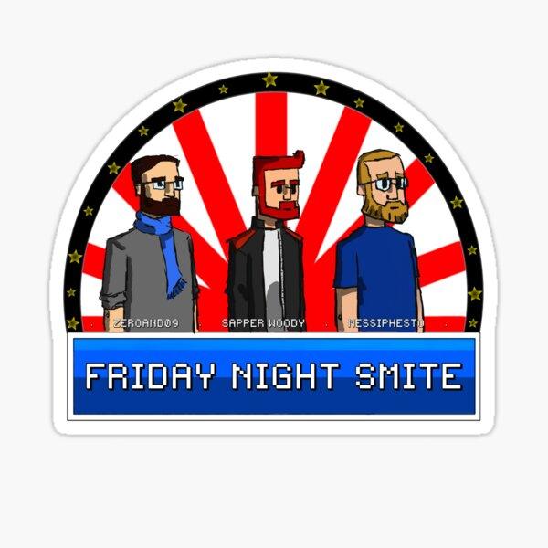 Friday Night Smite Avatars Sticker