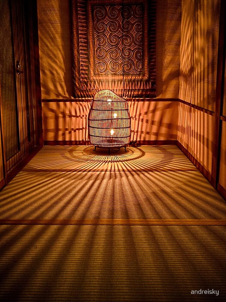 Ryokan Hakone Ginyu, corridor by andreisky