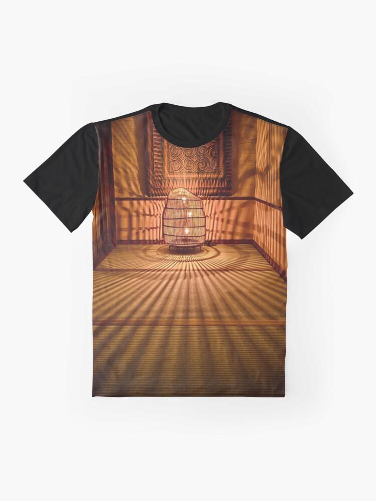 Alternate view of Ryokan Hakone Ginyu, corridor Graphic T-Shirt