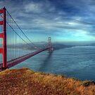 Golden Gate Bridge; Panorama by Ted Lansing