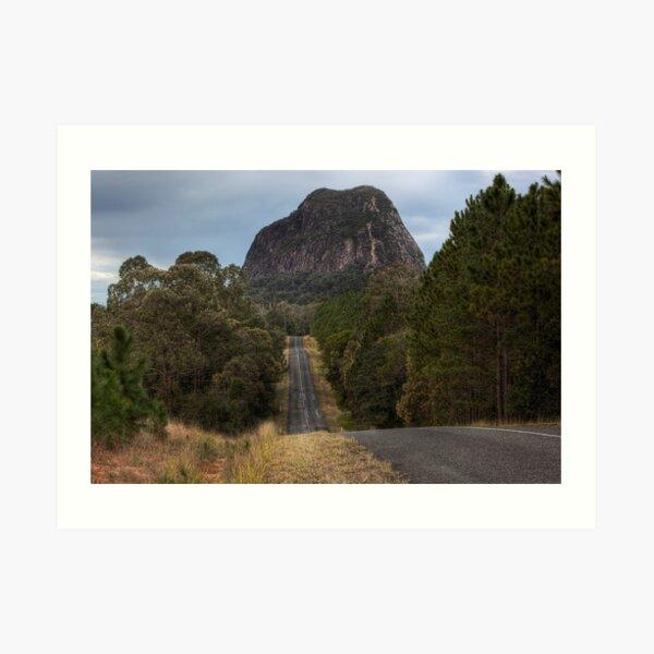 Mount Tibrogargan • Glass House Mountains National Park • Queensland Art Print