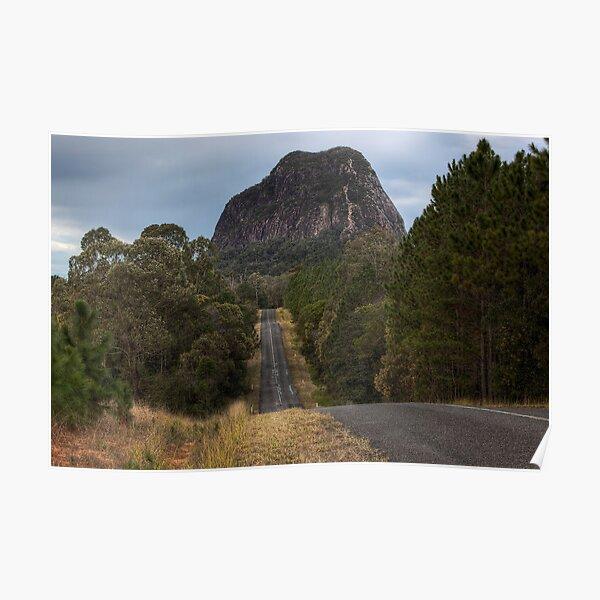 Mount Tibrogargan • Glass House Mountains National Park • Queensland Poster