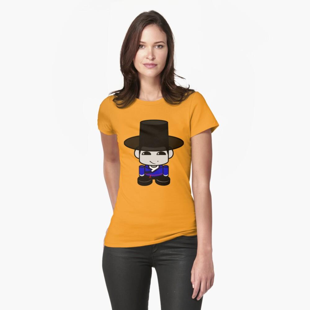 Appa Korean Geo'bot 1.0 Fitted T-Shirt