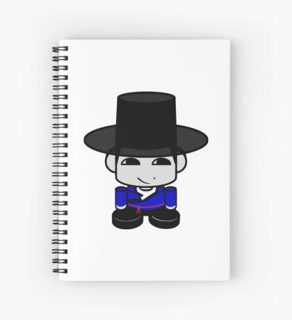 Appa Korean Geo'bot 1.0 Spiral Notebook