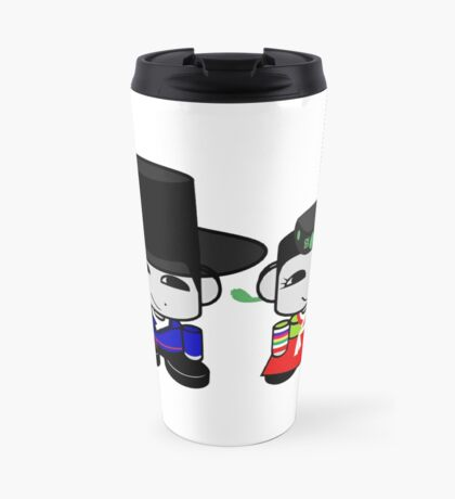 Appa & Umma Korean Geo'bot 1.0 Travel Mug