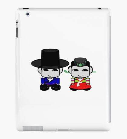 Appa & Umma Korean Geo'bot 1.0 iPad Case/Skin