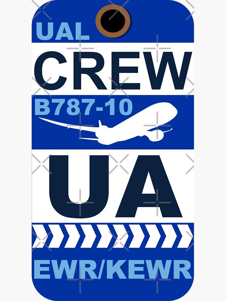 UA Boeing 787-10 Crew Newark EWR by AvGeekCentral