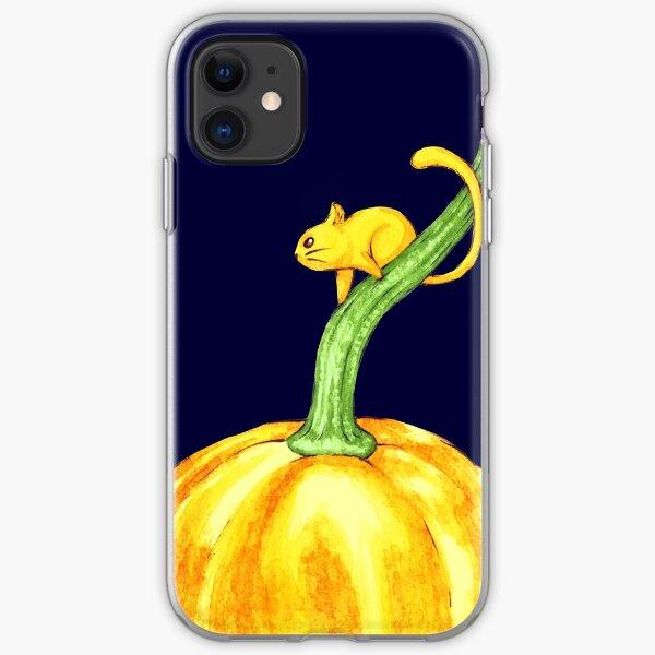 Pumpkin mouse Coque souple iPhone