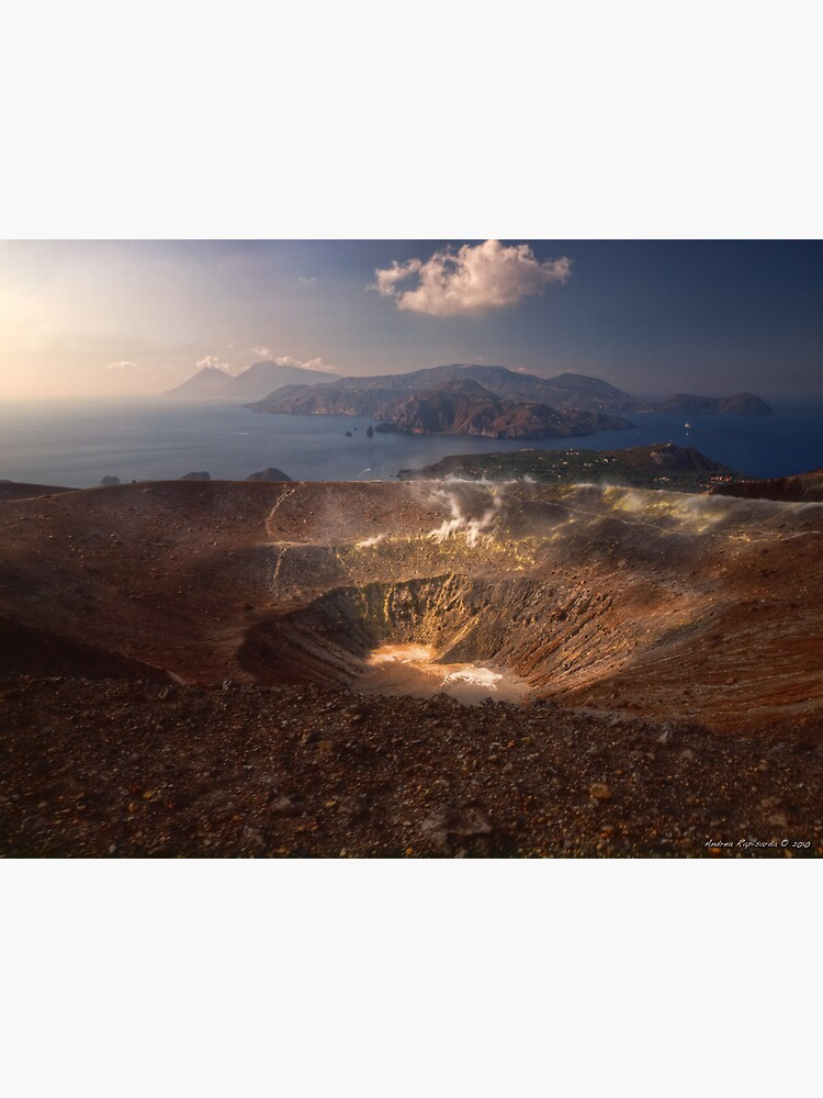 From the top of Vulcano  by rapis60