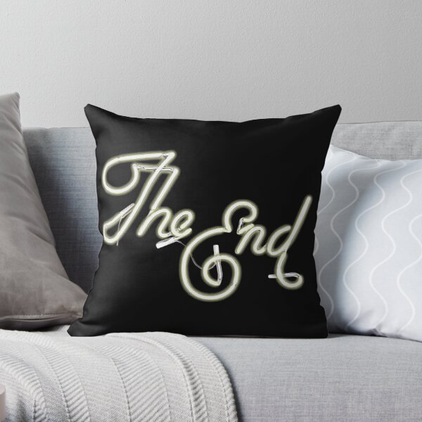 THE END - MOVIE CREDITS Throw Pillow