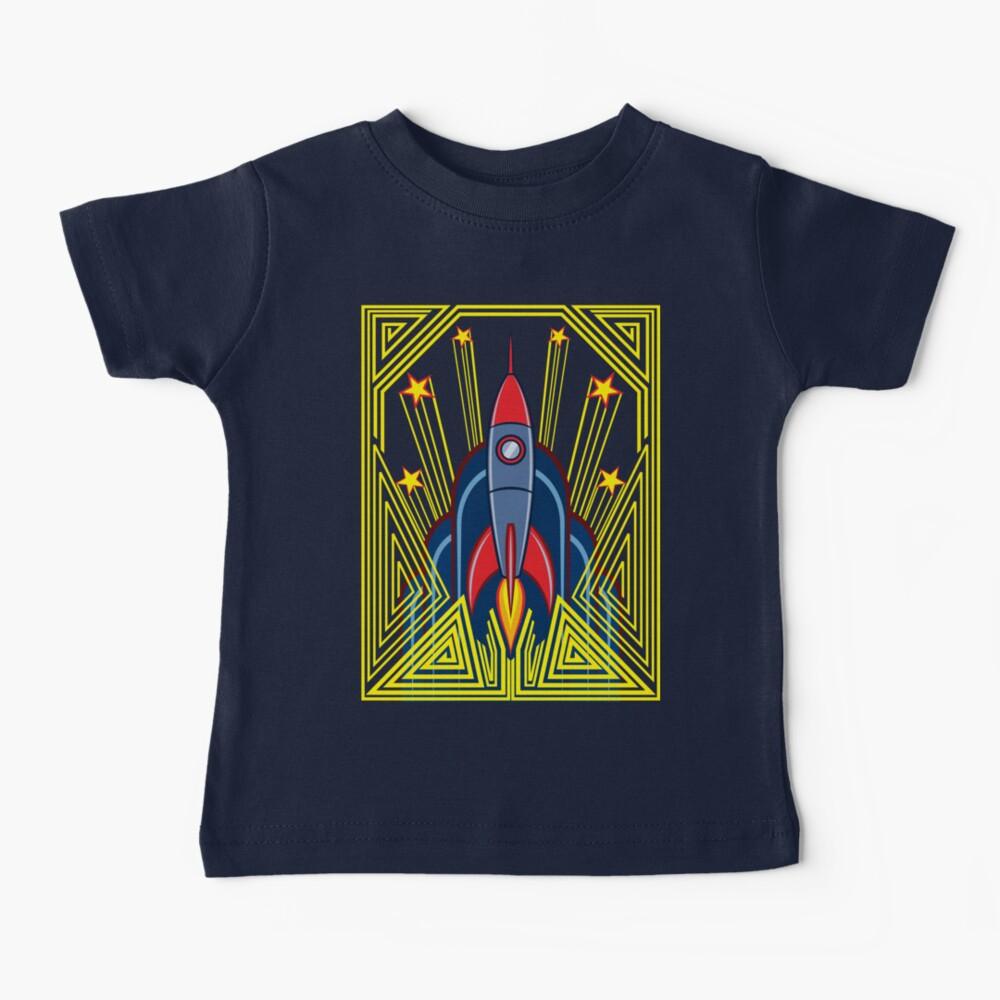 Deco Rocket Baby T-Shirt